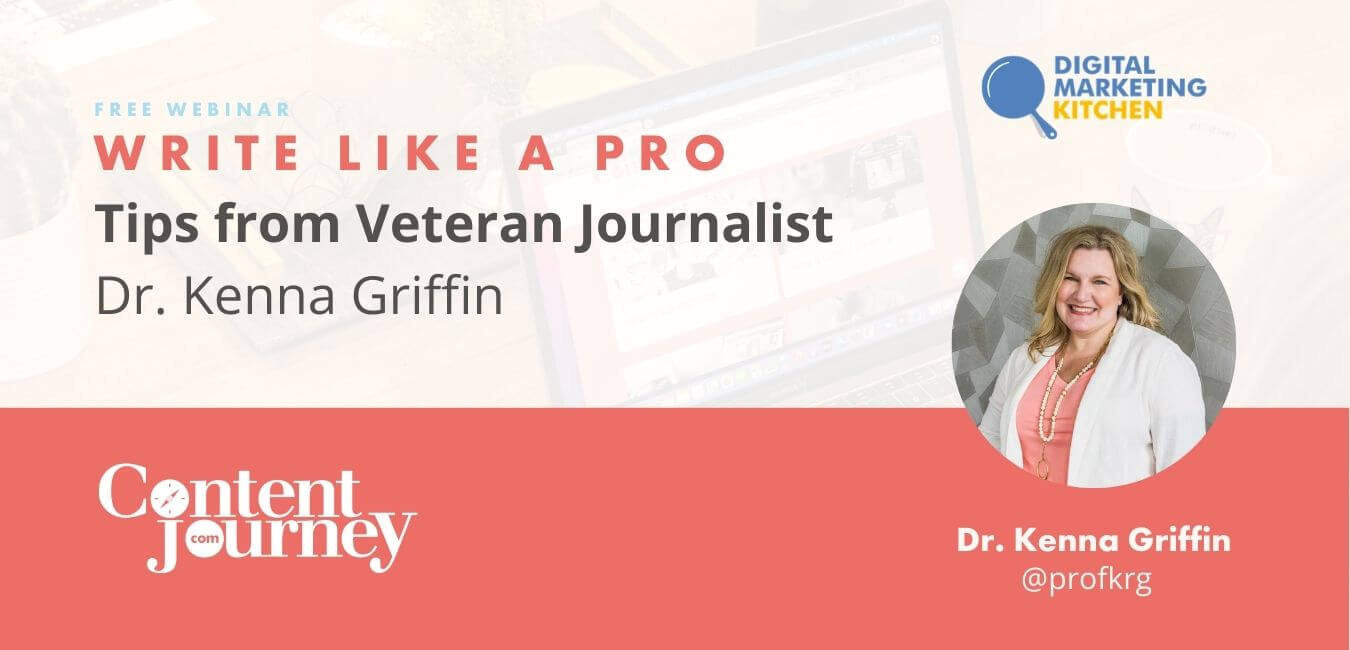 Webinar Write Like a Pro with Dr. Kenna Griffin